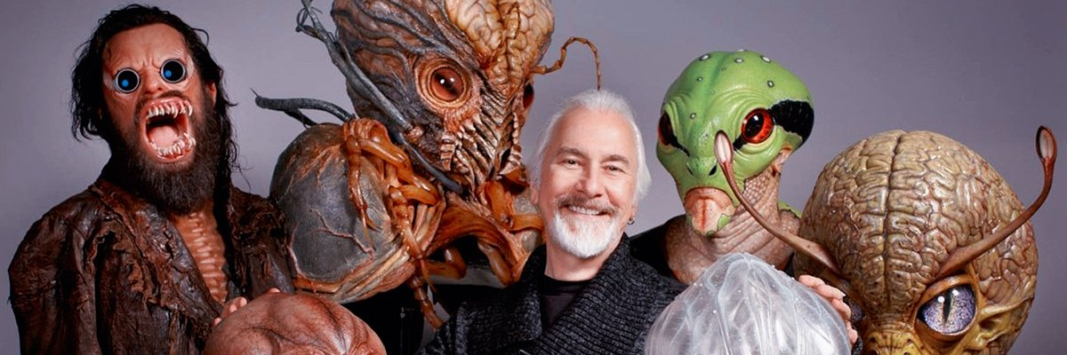 Rick Baker, The Star Wars Famous Makeup Artist Uses 3D Printing for The Creation of Monsters and Props.