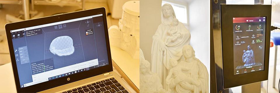 New 3D Printing Applications for Restoring Ancient Art