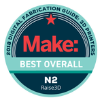 Best Overall Award by Make: Magazine