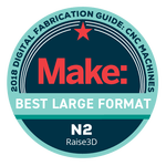 Best Large Format Award by Make: Magazine