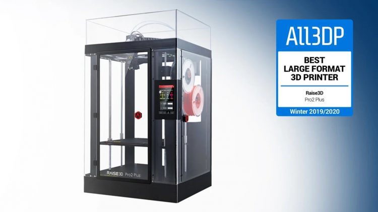 Raise3D Pro2 Plus 3D Printer Award for Best Large Volume