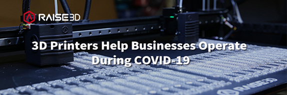 3D Printers Help Businesses Operate During COVID-19
