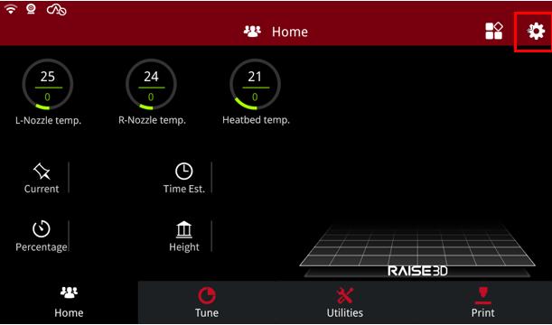 Raise3D Home Page
