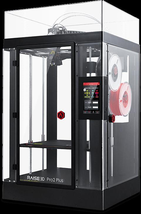 the Pro2 Plus Large Format 3D printer by Raise3D