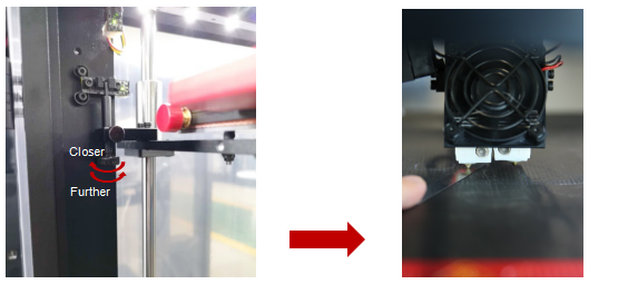 Pro2 Series Left Nozzle