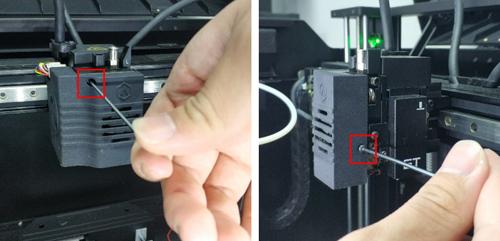 Loosen 3D Printer Screws