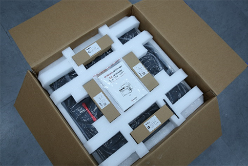 E2 3D Printer Content in Box