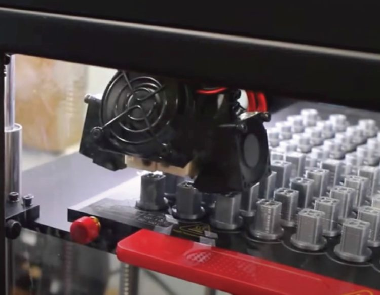 Printing Batch of Plastic Fixtures with the Raise3D Pro2 Printer