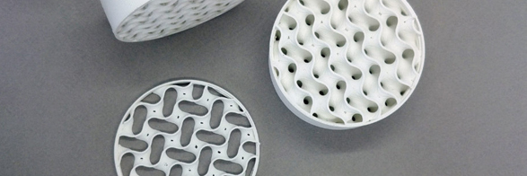 Zetamix 3D Printed Foundry Filters for Energy and Aerospace