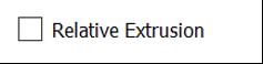 Relative Extrusion