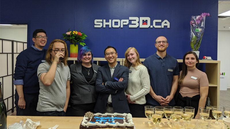 Shop3D.ca: Sales Partner in Canada