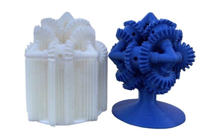 Dual Material 3D Printed Parts