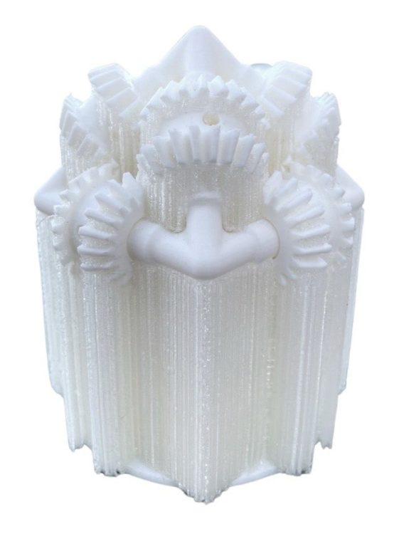 Dual Material 3D Printed Part