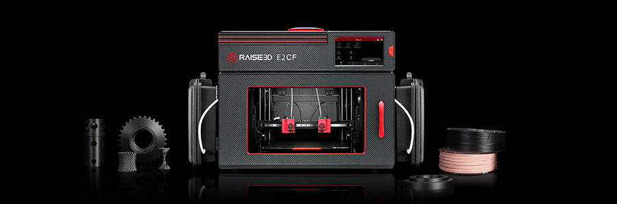 Raise3D Introduces New E2CF Professional Desktop 3D Printer